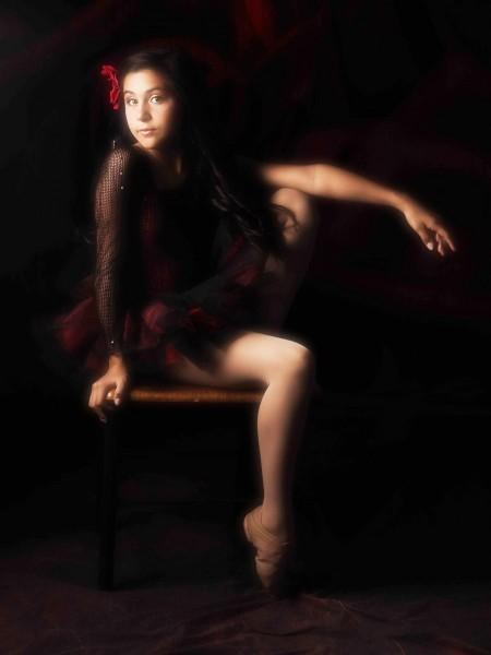 Glamour Shots Kids Photography ballerina