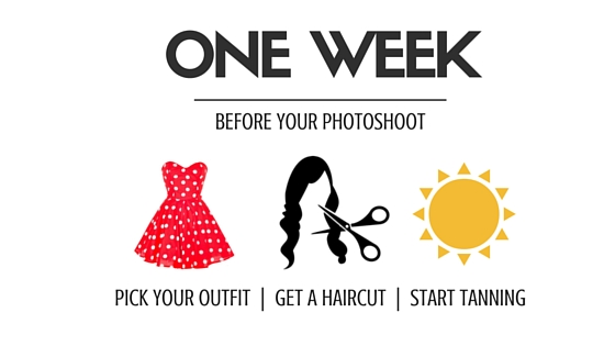 One Week - Pick Your Outfit, Get a Haircut, Start Tanning