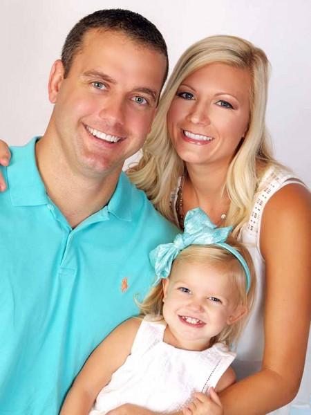 Glamour Shots Family Portriats