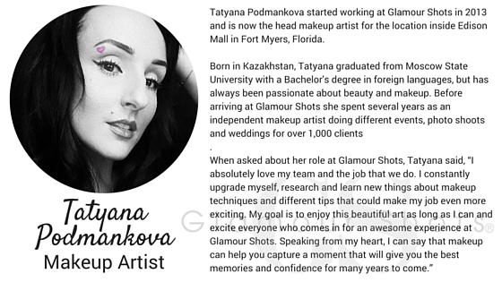 Glamour Shots MUA Tatyana Podmankova