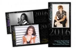 Glamour Shots Graduation Announcements