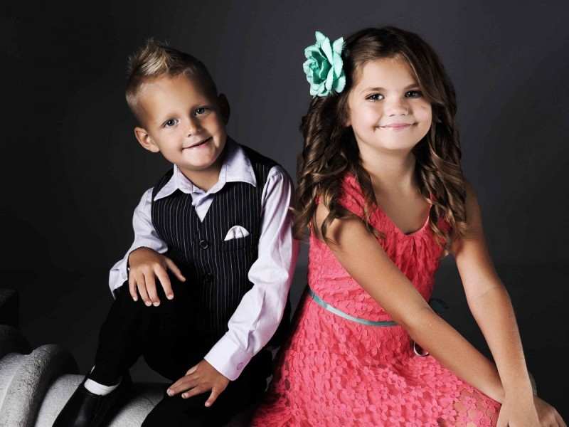 Glamour Shots Kids Photography