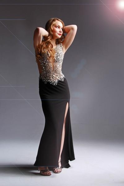 Glamour Shots Prom Portrait