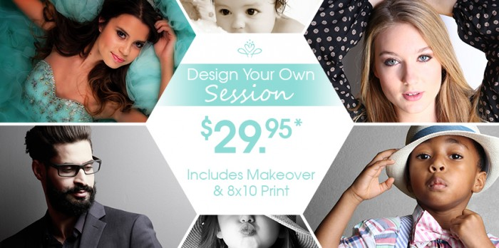Glamour Shots design your own session