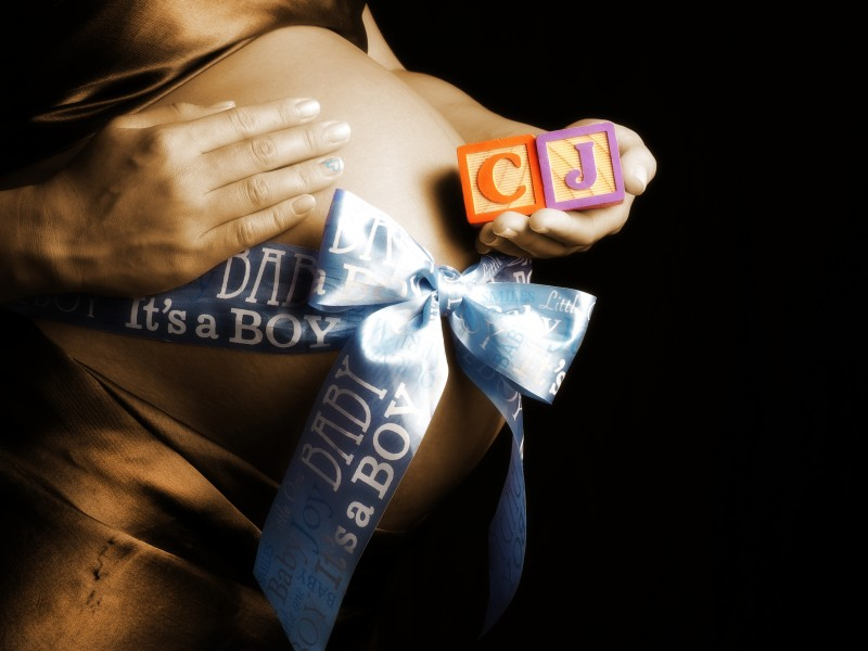 Glamour Shots Maternity Photography