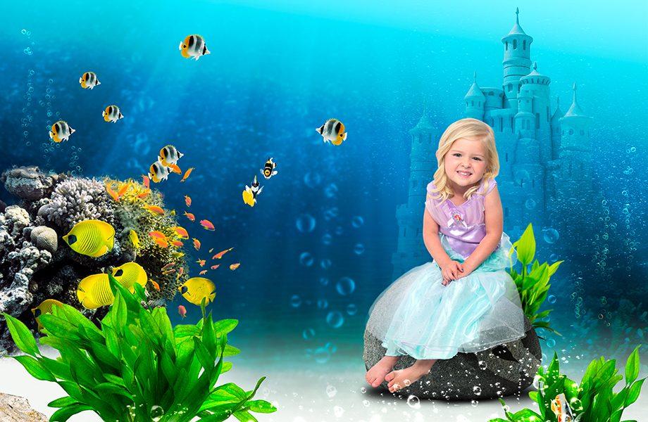 Glamour Shots Mermaid Castle