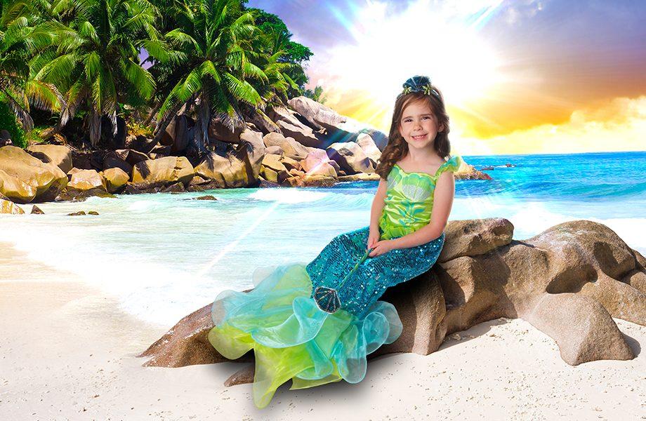 Glamour Shots Mermaid Sunrise