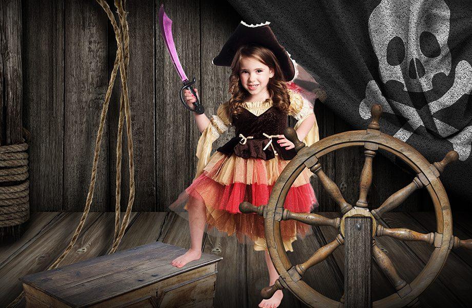 Glamour Shots Pirate Ship Deck