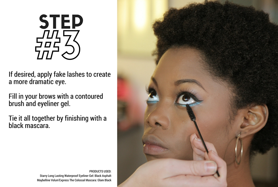 Holiday Makeup Tutorial - Evergreen Step 3 - Brows