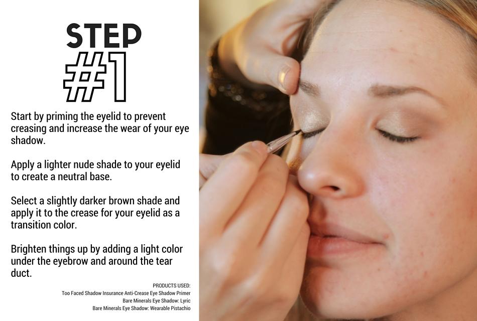 Holiday Makeup Tutorial - Naughty and Nice Step 1 - Eyes