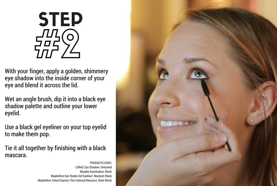 Holiday Makeup Tutorial - Naughty and Nice Step 2 - Eyes