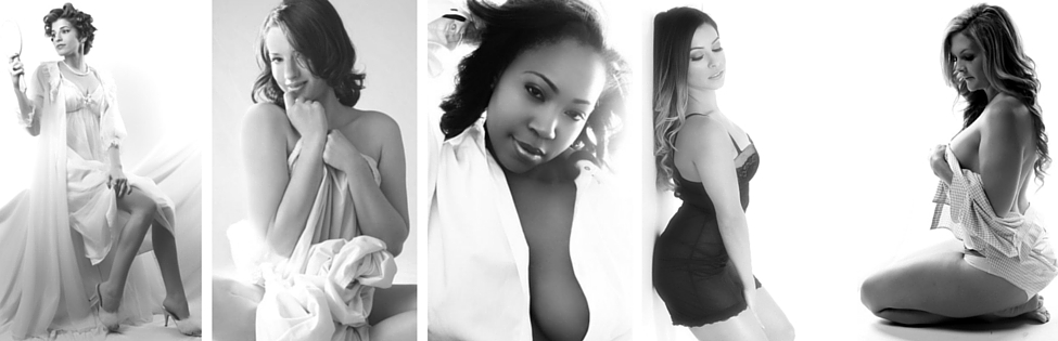 Glamour Shots Boudoir - Black & White