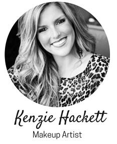 makeup artist Kenzie Hackett