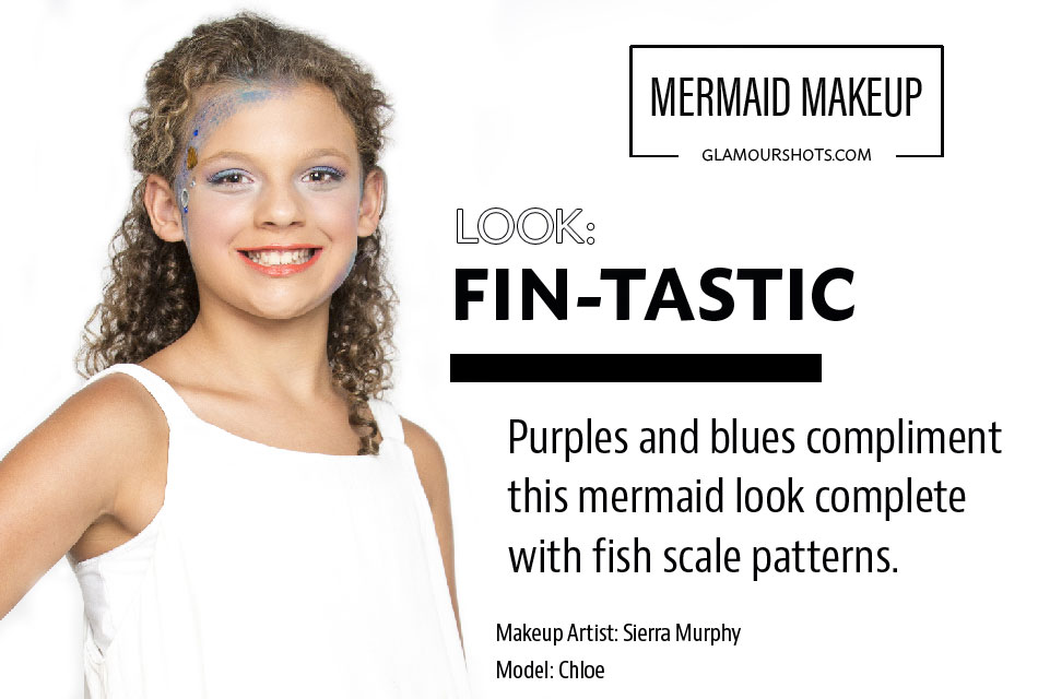 Mermaid Makeup Step by Step Guide