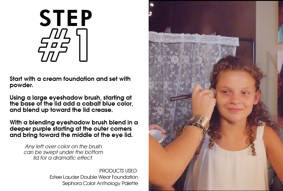 Mermaid Makeup Step by Step Guide slide1