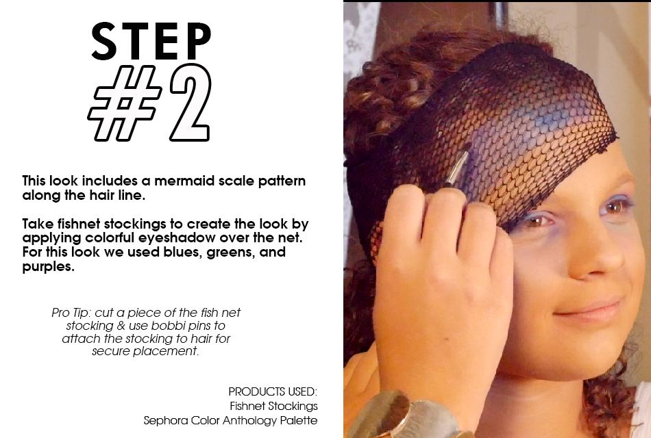 Mermaid Makeup Step by Step Guide slide2