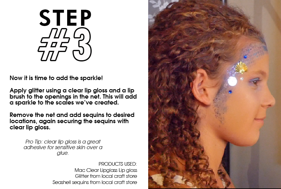Mermaid Makeup Step by Step Guide slide3