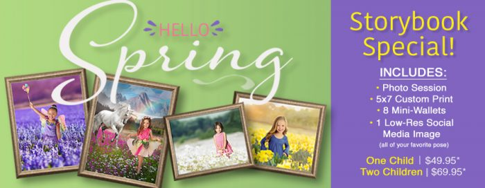 Glamour Shots Spring Storybook photography deal