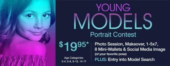 Glamour Shots Portrait Contest - Model Search